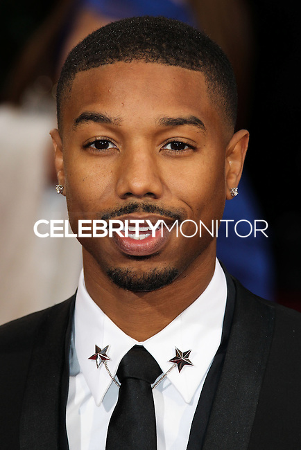 HOLLYWOOD, LOS ANGELES, CA, USA - MARCH 02: Michael B. Jordan at the 86th Annual Academy Awards held at Dolby Theatre on March 2, 2014 in Hollywood, Los Angeles, California, United States. (Photo by Xavier Collin/Celebrity Monitor)