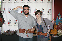 Horatio Sanz & Girlfriend Jenn Schatz with Rough Roses Belts.GBK MTV Movie Awards Gifting Suites .Crimson & Opera.Los Angeles,  CA.May 31, 2008.©2008 Kathy Hutchins / Hutchins Photo .