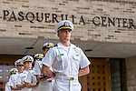 6.5.15 NROTC Flag Raising.JPG by Matt Cashore/University of Notre Dame