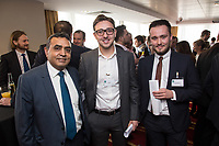 Gurmall Raju of Ryley Wealth Management, Alex Cook of Air-It and Alex Williamson of Gemeg Education