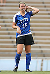 28 August 2009: Duke's Nicole Lipp. The Duke University Blue Devils lost 1-0 to the University of North Carolina Greensboro Spartans at Fetzer Field in Chapel Hill, North Carolina in an NCAA Division I Women's college soccer game.