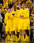 The University of Michigan men's basketball team beat Ohio State in overtime, 76-74, at Crisler Arena in Ann Arbor, Mich., on February 5, 2013.
