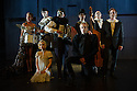 TIGER LILLIES PERFORM HAMLET has its UK premiere at the Queen Elizabeth Hall, Southbank Centre. Picture shows: the Tiger Lillies and cast.
