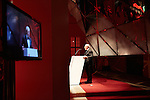 8.11.2014, Berlin Jüdisches Museum. Verleihung des »Preises für Verständigung und Toleranz« des Jüdischen Museums Berlin an Bundesfinanzminister Wolfgang Schäuble MdB und Verleger Hubert Burda. Hubert Burda