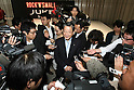 June 9, 2010 - Yokohama, Japan - Nissan Motor COO Toshiyuki Shiga talks to the press during the launch of the new compact crossover 'Juke' at the company's headquarters in Yokohama, on June 9, 2010. Nissan said it is aiming to sell 1,300 units per month with starting price of 1.69 million yen (18,500 dollars). 'Juke', which combines features of a sports car and sport utility vehicle, will also be sold in Europe and the U.S. this autumn.