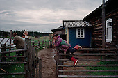 Lohoma, Russia<br /> July, 1998<br /> <br /> Life in a Russian village.