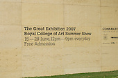 "The Big ""Tent"" for the Royal College of Art Degree Show, Kensington Gardens, London  2007"