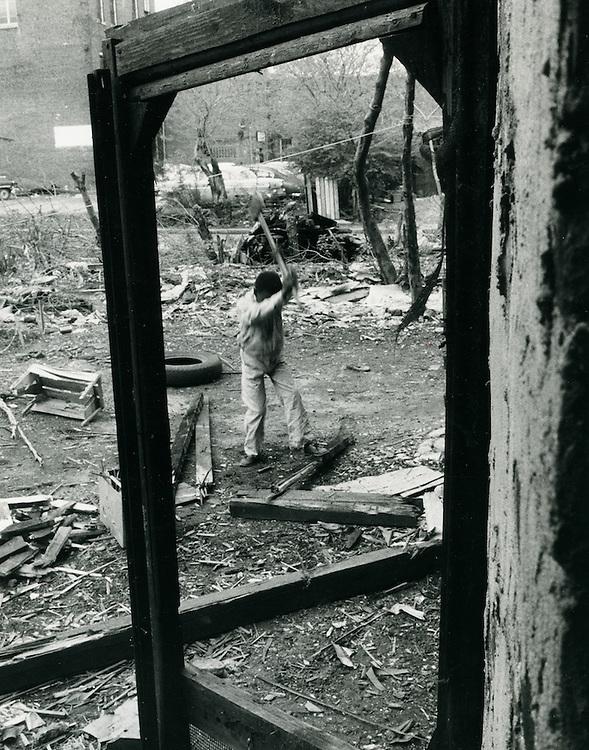 1958  SPRING..Downtown North (R-8)..CAPTION..Neal Clark Jr..NEG#.3333..