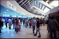 The fans in the halls of Brendan Byrne Arena at the Grateful Dead Concert before the show starts on 1 April 1988