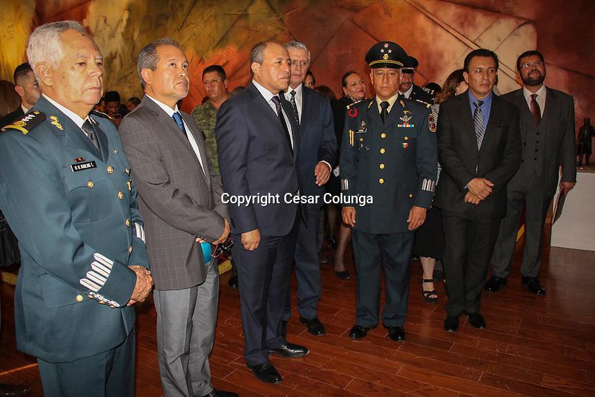Querétaro, Qro. 1 de diciembre de 2016.- Ceremonia de la Inauguración de la exposición de los Facsímiles de los Sentimientos de la Nación y de las Constituciones de 1824, 1857 y 1917.