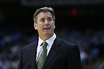 16 December 2015: Tulane head coach Ed Conroy. The University of North Carolina Tar Heels hosted the Tulane University Green Wave at the Dean E. Smith Center in Chapel Hill, North Carolina in a 2015-16 NCAA Division I Men's Basketball game. UNC won the game 96-72.