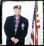 Veteran  Jim Cooke poses for a photo at a Veterans Day Program at the Oxford Conference Center in Oxford, Miss. on Thursday, November 11, 2010.