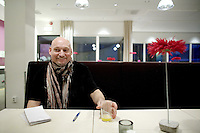 Arendal Norway 20091116 - Freelance journalist Pal Refsdal, who was kept hostage by Taliban in Kunar province for one week in November 2009. Photo: Torbjorn Gronning