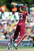 16.02.2015. Nelson, New Zealand.  West Indies player Andre Russell during the 2015 ICC Cricket World Cup match between West Indies and Ireland. Saxton Oval, Nelson, New Zealand.