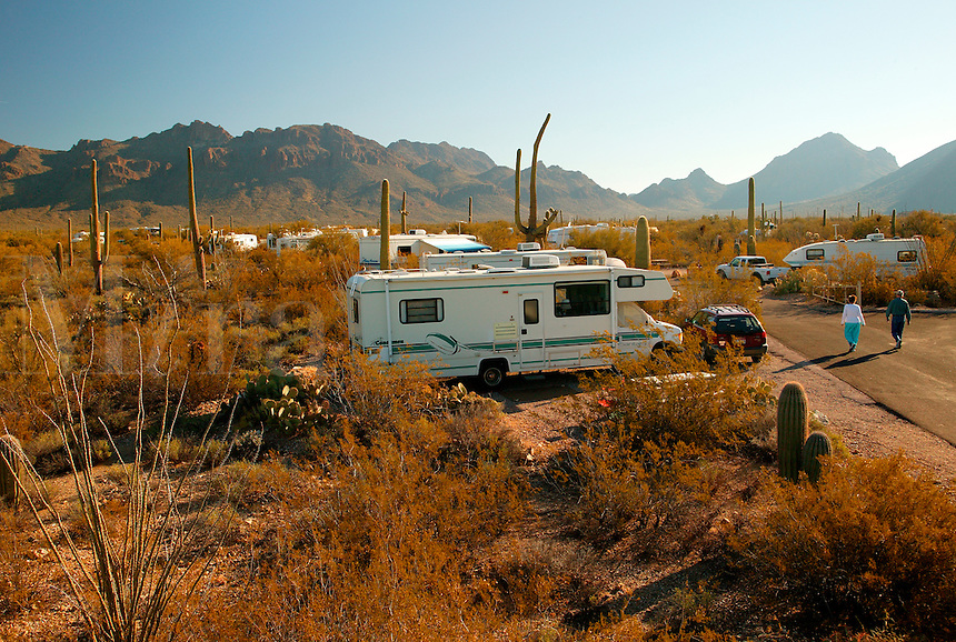 Saguaro National Park Camping Map Near Saguaro National Park