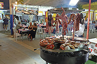 Food, glorious food! Pop-up restaurants with food in bewildering variety at fiesta in San Pedro de Alcantara, Marbella, Spain. 15th October 2015, 201510151752<br /> <br /> Copyright Image from Victor Patterson, 54 Dorchester Park, Belfast, UK, BT9 6RJ<br /> <br /> t1: +44 28 9066 1296 (from Rep of Ireland 048 90661296)<br /> t2: +44 28 9002 2446 (from Rep of Ireland 048 90022446)<br /> m: +44 7802 353836<br /> <br /> e1: victorpatterson@me.com<br /> e2: victorpatterson@gmail.com<br /> <br /> www.victorpatterson.com<br /> <br /> IMPORTANT: Please see my Terms and Conditions of Use at www.victorpatterson.com
