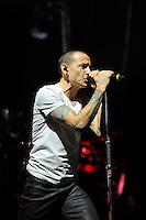 NOV 23 Linkin Park performing at the o2 Arena
