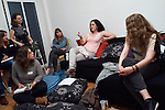 """14.4.2015, Berlin. Home of Rivka Halbershtadt (Israeli). Memories@Home is an annual event born from our understanding that we, young Jewish people living in Israel today, are growing increasingly disconnected from the official and outdated events of """"Holocaust Memorial Day""""."""