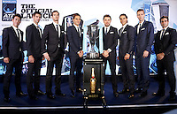 The Top 8 players in the world on the ATP Tour attend the Official Launch of the ATP World Tour Finals at City Hall, London, 2015