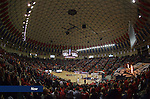 The Liberty Flames Basketball team battles against Randolph College at home in the Vines Center on Nov. 8, 2013.