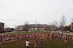 4/10/2011 -- Medford, MA -- The event culminated in a giant congo line that spanned the residential quad. (Kaveh Veyssi, A14, for Tufts University)