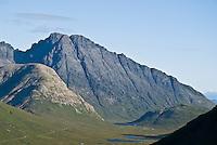 Mountain peak of Bla Bheinn (Blaven), Isle of Skye, Scotland