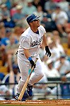 19 March 2006: Jeff Kent, infielder for the Los Angeles Dodgers, at bat during a Spring Training game against the Washington Nationals at Holeman Stadium, in Vero Beach, Florida. The Dodgers defeated the Nationals 9-1 in Grapefruit League play...Mandatory Photo Credit: Ed Wolfstein Photo..