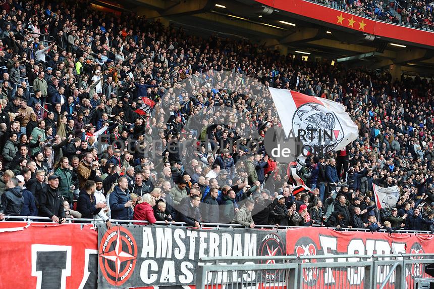 VOETBAL: AMSTERDAM: 16-04-2017, AJAX - SC Heerenveen, uitslag 5 - 1, AJAX publiek, ©foto Martin de Jong