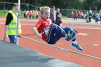 ATLETIEK: HEERENVEEN: 19-09-2015, Athletics Champs AV Heerenveen, Tymen Paulus (#184 | 8 jaar), ©foto Martin de Jong