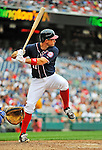 5 September 2011: Washington Nationals third baseman Ryan Zimmerman in action against the Los Angeles Dodgers at Nationals Park in Los Angeles, District of Columbia. The Nationals defeated the Dodgers 7-2 in the first game of their 4-game series. Mandatory Credit: Ed Wolfstein Photo