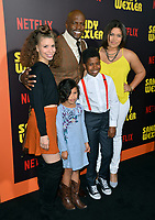 Terry Crews &amp; Family at the premiere for &quot;Sandy Wexler&quot; at The Cinerama Dome. Los Angeles, USA 06 April  2017<br /> Picture: Paul Smith/Featureflash/SilverHub 0208 004 5359 sales@silverhubmedia.com