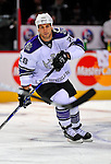 31 January 2009: Los Angeles Kings' center Jarret Stoll warms up prior to facing the Montreal Canadiens at the Bell Centre in Montreal, Quebec, Canada. The Canadiens defeated the Kings 4-3. ***** Editorial Sales Only ***** Mandatory Photo Credit: Ed Wolfstein Photo