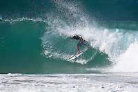 ASHER PACEY (AUS) surfing the Superbank, Coolangatta, Queensland, Australia during swell generated by Cyclone Jasper.  Photo: joliphotos.com