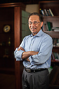 Dato Seri Anwar Ibrahim, leader of Malaysia's opposition Parti Keadilan Rakyat poses for a portrait at the party HQ in Petaling Jaya, Selangor, Malaysia on Tuesday, February 19th, 2013.