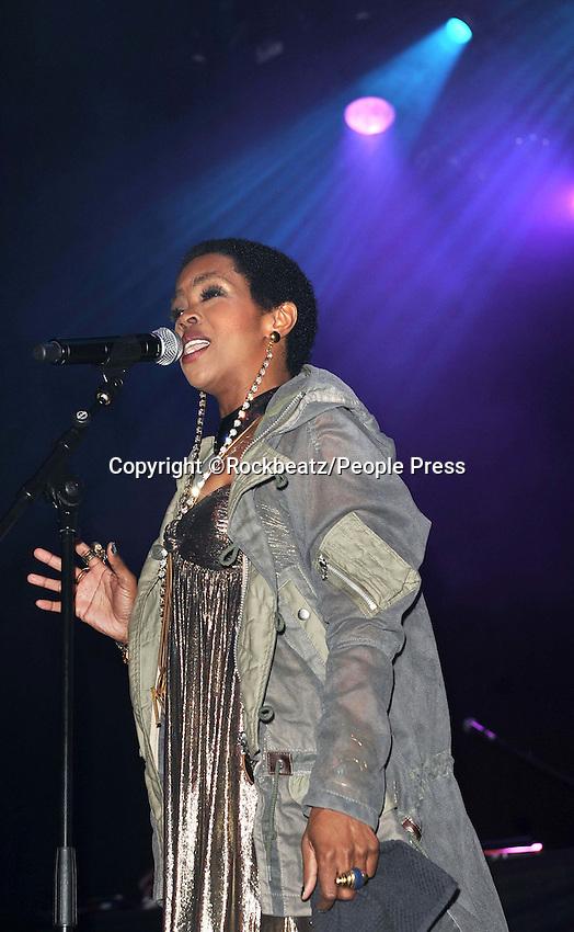 London - Lauryn Hill performs at Indigo O2, London - April 14th 2012..Photo by Rockbeatz.