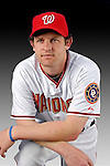 25 February 2007: Washington Nationals outfielder Austin Kearns poses for his Photo Day portrait at Space Coast Stadium in Viera, Florida.<br /> <br /> Mandatory Photo Credit: Ed Wolfstein Photo<br /> <br /> Note: This image is available in a RAW (NEF) File Format - contact Photographer.