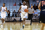 05 November 2014: North Carolina's Jamie Cherry. The University of North Carolina Tar Heels hosted the Carson-Newman University Eagles at Carmichael Arena in Chapel Hill, North Carolina in an NCAA Women's Basketball exhibition game. UNC won the game 88-27.