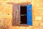 Shuttered window, Greece