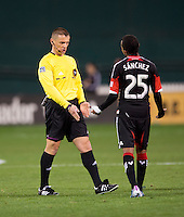 Marcos Sanchez, Sorin Stoica.  D.C. United defeated Real Salt Lake, 1-0, at RFK Stadium.