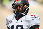 30 September 2006: Virginia's Darren Childs. The Duke University Blue Devils lost 37-0 to the University of Virginia Cavaliers at Wallace Wade Stadium in Durham, North Carolina in an Atlantic Coast Conference NCAA Division I College Football game.