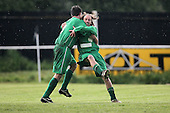 Frontline score their third goal and celebrate - Cressing Yardley United vs Frontline Reserves - Braintree & North Essex Sunday League Neil Horrocks Memorial Invitation Plate Final at Halstead Town FC - 14/05/12 - MANDATORY CREDIT: Gavin Ellis/TGSPHOTO - Self billing applies where appropriate - 0845 094 6026 - contact@tgsphoto.co.uk - NO UNPAID USE.