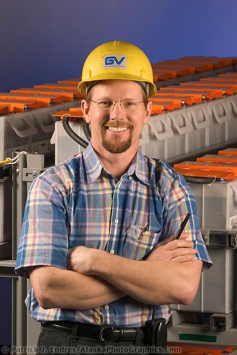 Golden Valley employee Tim Devries, Golden Valley Electric Association