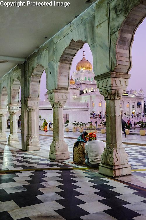The Gurudwara Bangla Sahib Sikh temple, New Delhi, India
