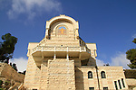 Church of St. Peter in Gallicantu on the slope of Mount Zion, Jerusalem