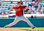 7 March 2011: Houston Astros' pitcher Bud Norris on the mound during a Spring Training game against the Washington Nationals at Space Coast Stadium in Viera, Florida. The Nationals defeated the Astros 14-9 in Grapefruit League action. Mandatory Credit: Ed Wolfstein Photo