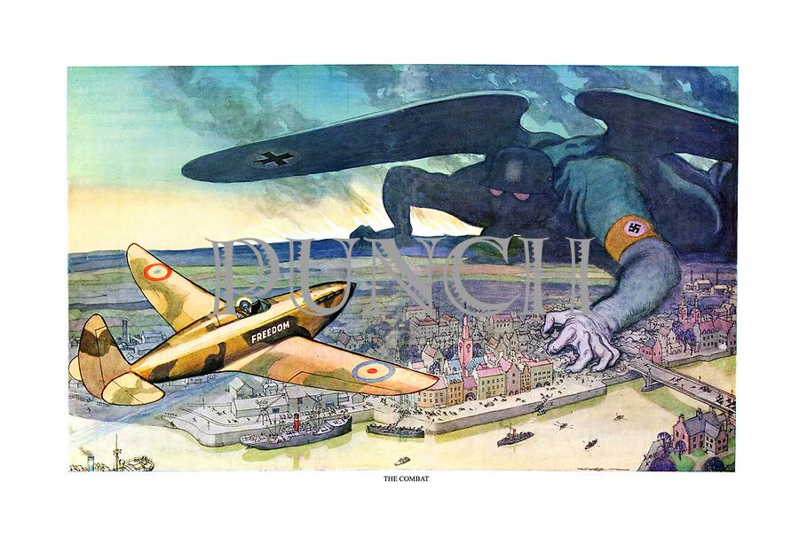 World war 2 cartoons punch 1940 26 27 alm a0 tif