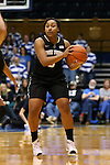07 January 2016: Wake Forest's Ataijah Taylor. The Duke University Blue Devils hosted the Wake Forest University Demon Deacons at Cameron Indoor Stadium in Durham, North Carolina in a 2015-16 NCAA Division I Women's Basketball game. Duke won the game 95-68.