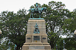 General William Tecumseh Sherman Monument, Soldier sculptures, Peace sculpture group, Missionary Ridge bas relief and Commander medallions, Carl Rohl-Smith 1903, Sherman Plaza, Washington DC