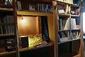 """Sleep in a """"bookshop"""" at Book & Bed Designer Hostel in Tokyo"""