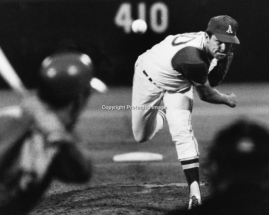 Oakland Athletics pitcher Jim Nash.(Sept 7,1968 photo/Ron Riesterer)